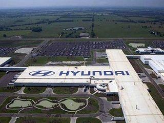 В Петербурге завод Hyundai уходит на летние каникулы