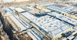 Завод вТольятти засняли сквадрокоптера. Фото: AvtoVAZ News, «ВКонтакте»