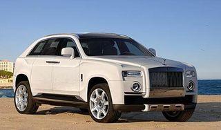 Rolls-Royce создаст собственный внедорожник Cullinan