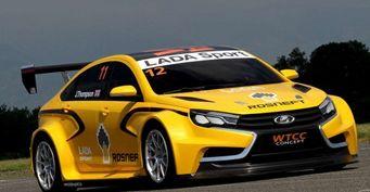Концепт гоночной LADA Vesta Sport WTCC взорвал интернет