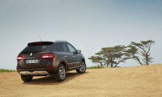 Renault Koleos поступил на российский рынок