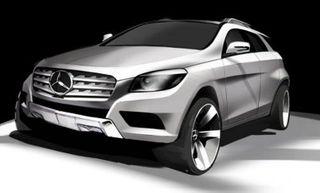 Mercedes-Benz разработают конкурента для BMW X6