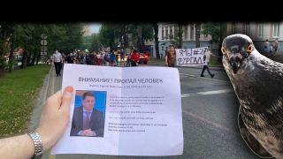 Кормят голубей и ищут Фургала: В России замаскировали незаконные акции протеста