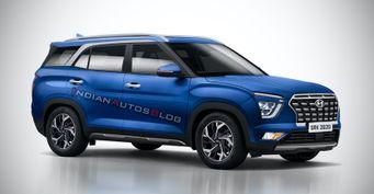 7-местная Hyundai Creta IIвпервые замечена натестах