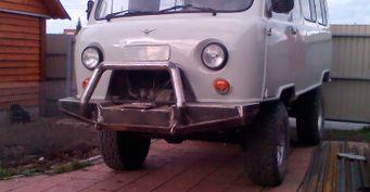 Из«Буханки» впроходимый внедорожник: Тюнинг УАЗ-452 показан вСети