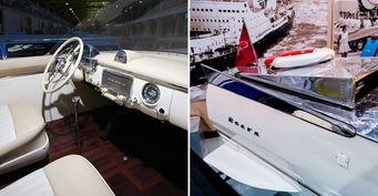 Без колёс, носкрыльями: Водоплавающая «Волга» ГАЗ-343 раскрыта вовсех деталях