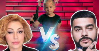 Пистолеты вместо игрушек: Стало известно почему Симона забрала дочь российского рэпера