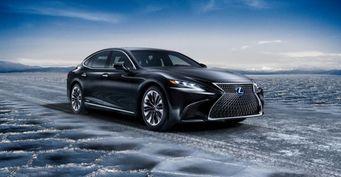 Lexus презентовала обновленный флагман LS 500H