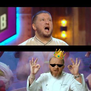 Ивлев показывает, кто тут папочка кулинарии. Источник: youtube.com