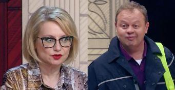 «Попугай среднего возраста»: Хромченко в эфире оскорбила КВНщика Никишина из-за «престарелой» одежды
