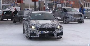 BMW 1-Series запечатлели на зимних тестах