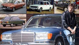 Голубой «мерин» и другие машины Высоцкого. Фото: autocentre.ua