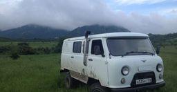 УАЗ «Буханку» для путешествий с запчастями от БТР-80 показали в Сети