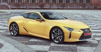 Цена на Lexus LC 500 оказалась ниже 100 тысяч долларов