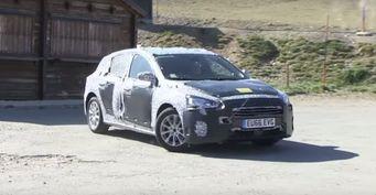 Ford Focus нового поколения запечатлен на видео