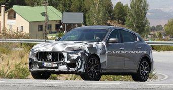 Maserati проводит тестирование самой быстрой версии кроссовера Levante