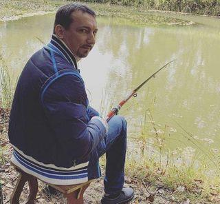 Сергеич нарыбалке // Фото профиля: instagram @sergeichcomedy