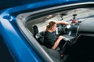Mazda6. - Проверка полигоном