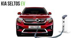 KIA Seltos EV: Как может выглядеть электрический кроссовер