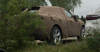 По России колесит засекреченный автомобиль