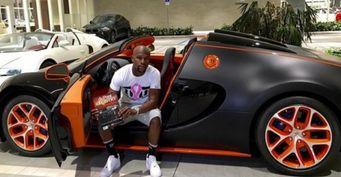 Флойд Мейвезер выставил на аукцион eBay свой Bugatti Grand Sport Vitesse