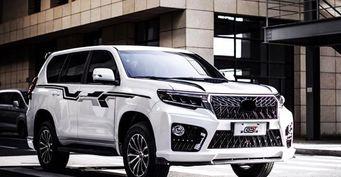 «Дай волю японцам»: В сети оценили шикарный тюнинг Toyota LC Prado
