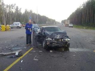 В крупном ДТП под Петербургом погиб водитель иномарки