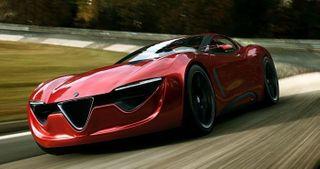 В 2017 году Alfa Romeo должны выпустить конкурента Porsche 911 и Jaguar F-Type
