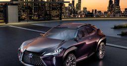 Концепткар Lexus UX официально дебютировал в Париже
