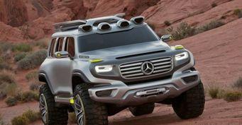 Mercedes-Benz собирается выпустить «маленький Gel