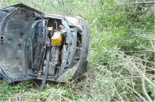 В Тверской области погиб водитель, который пытался скрыться от полиции