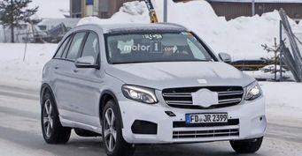 Mercedes-Benz тестирует электрокар EQ в кузове GLC-Class