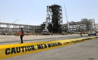 Последствия пожара НПЗ Саудовская Аравия