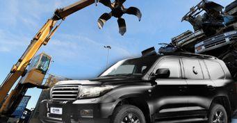 «Крузак» неподдался: Попытку утилизации бронированного Land Cruiser 200 показали вСети
