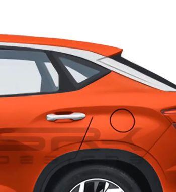 Оставит «Аркану» уразбитого корыта: Hyundai Creta Coupe GTпоказали нарендерах