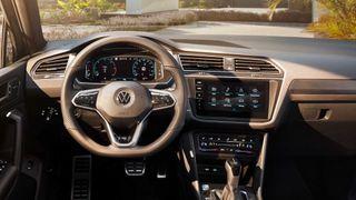 Фото: салон Volkswagen Tiguan 2021, источник: Volkswagen