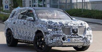 В Германии на тестах заметили обновлённый Mercedes AMG GLS 63 2019
