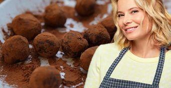 Нежные шоколадные трюфели от Юлии Высоцкой