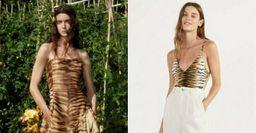 Вместо леопарда. Тигровый принт избавит образ от «вульгарности»
