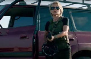 Сара Конор, она же Линда Хэмилтон, 61 год. Терминатор: Тёмные судьбы