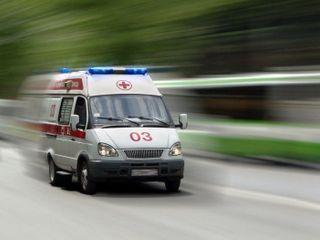 В Петербурге водитель автобуса зажал ногу пассажирки и протащил ее