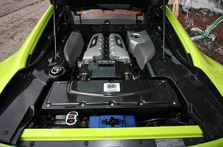 Тюнинг Audi R8 V10 от команды Performance