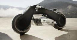 BMW представила футуристический концептбайк