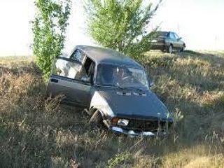 Около посёлка Пушкинский в Оренбуржье пенсионер на «семёрке» слетел в кювет