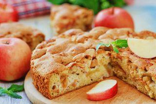 Яблочный пирог в микроволновке | фото: chefmarket.ru