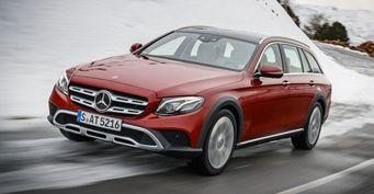 Универсал Mercedes-Benz E-Class All-Terrain готовится к дебюту в России