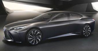 Lexus готовится к выпуску водородного кроссовера