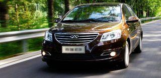 В РФ начались продажи седана Chery A19