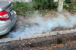 Фото: Клубы дыма изновой LADA Granta, источник: Wroom.ru