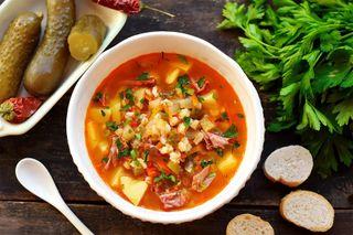 Супер аппетитный рассольник   Фото: zen.yandex@Рецепты салатов и вкусняшек